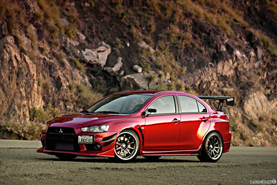 Well Modified EVO X with CE28Ns
